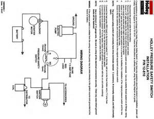 electric fuel safety switch the cj2a page forums