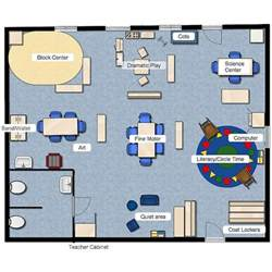 floor plan for daycare preschool class layout classroom layout pinterest