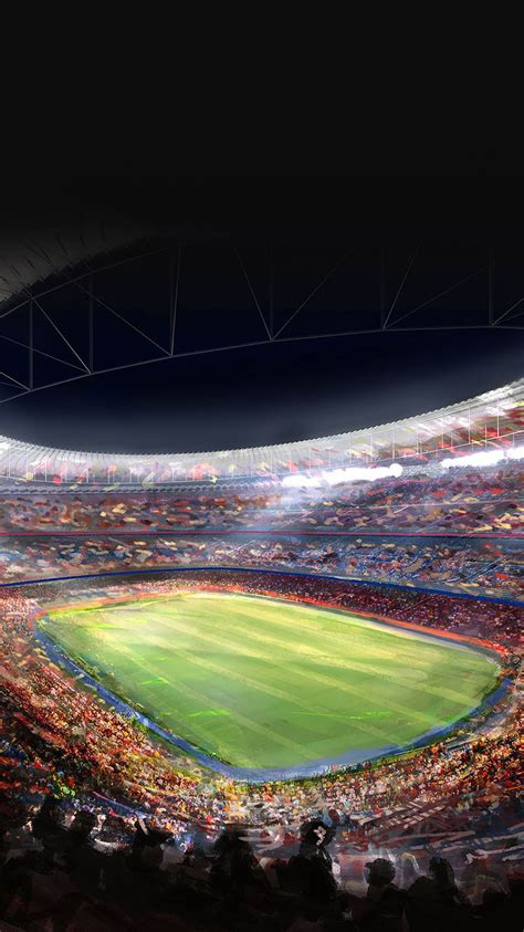 wallpaper iphone football c nou fc barcelona football stadium iphone 6 wallpaper