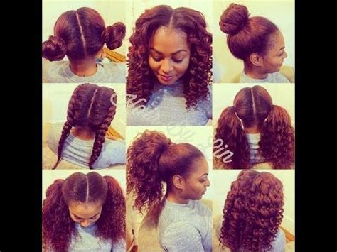 braiding method for sew in how to do a 4 way vixen crochet braids natural hair