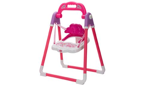 toy baby doll swing baby doll swing chair pretend play no we053365 ebay