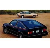 &187 1982 Chevrolet Cavalier CL Type 10 Vs Toyota Corolla SR5