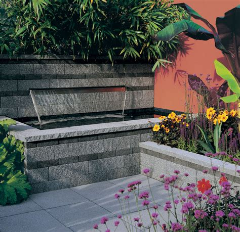 garden wall coping stones granite effect textured garden wall copings stonemarket