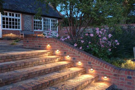 Patio Step Lights 12 Summer Landscape Lighting Ideas