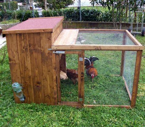 come costruire una gabbia per galline come costruire un pollaio idee green
