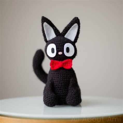 amigurumi jiji pattern jiji the black cat all about ami