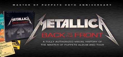 bruce the authorized visual history books book review metallica back to the front a visual