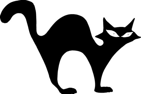 cat silhouette template cat silhouettes clipart best