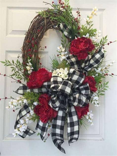 dont   spring wreath  front door