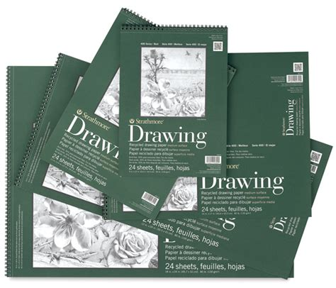 sketch book a3 size strathmore 400 series recycled paper pads blick