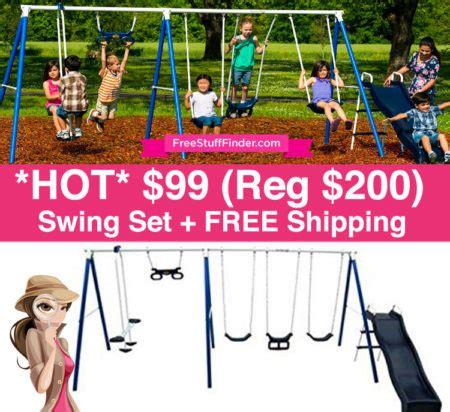 swing sets under 200 hot 99 reg 200 metal swing set free shipping