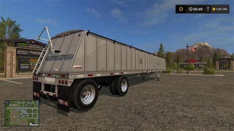 Or 2017 Trailer Dakota 48ft Spread Axle Trailer V1 0 Fs17 Ls 2017 Mods Farming Simulator 17 Mod Ls 2017