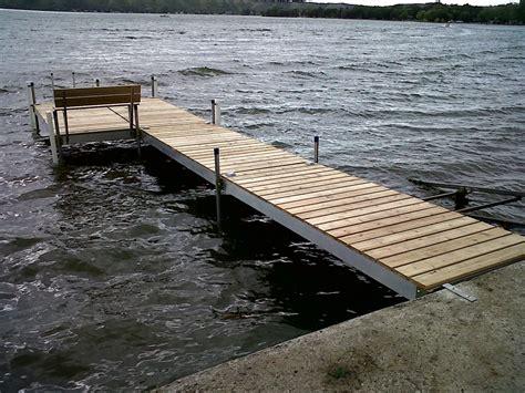 Solid Side Sectional Docks Shoreline Solutions Docks And