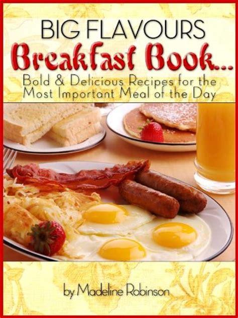 a really big lunch books breakfast menu