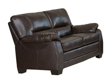 brentwood leather sofa abbyson living brentwood leather 2 pc set