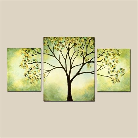 blacksmith colourful trees of fall art panels by tree canvas painting ideas art ideas drawing tips