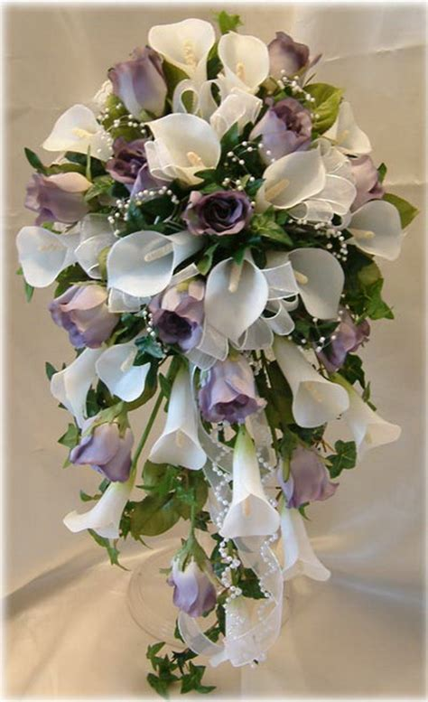 Silk Flowers Wedding Bouquet by Pictures Of Flowers Arrangements Beautiful Flowers