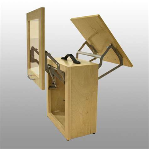 Vertical Cabinet Door Hinge Door Lift Demos Casemarte