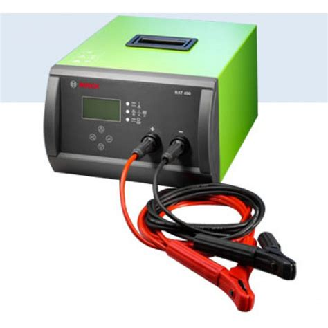 Battere Charger 12 24v Bosch Bat 490 the bosch bat 490 compact and solid high frequency charger with versatile application an quot all