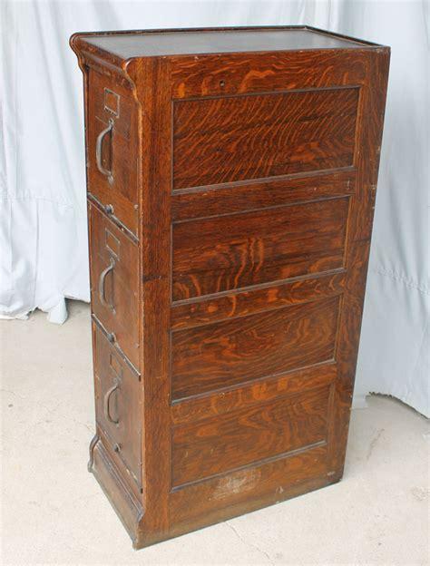 Bargain John's Antiques   Antique Oak File Cabinet   Globe