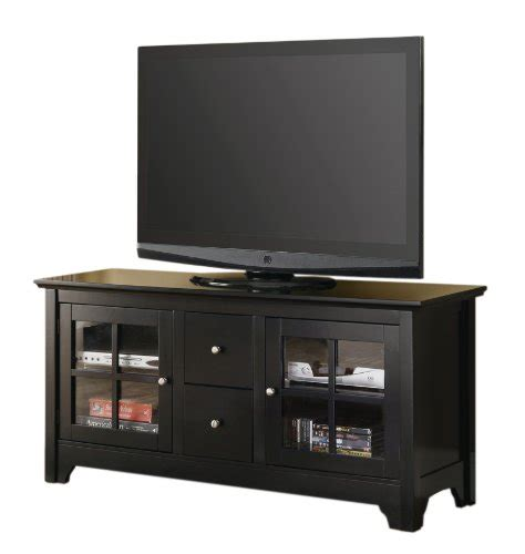 52 Inch Desk by Walker Edison 52 Inch Wood Tv Stand Console With Drawers