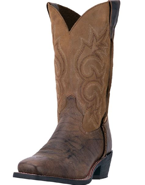 mens square toe western boots laredo western boots mens 12 cowboy heel square toe