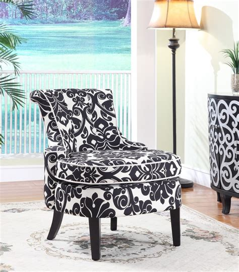 black and white damask chaise lounge black and white damask chair studio decorating