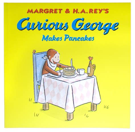 curious george makes pancakes board book books curious george makes pancakes by margret h a