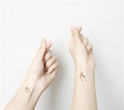 tattoo hand sign love you quote tattoo kpop hot finger heart gestures