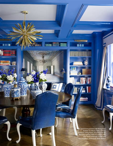 Blue Dining Room Accessories 25 Dreamy Ideas To Add Blue To Your Dining Room Decor