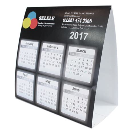 The Office Desk Calendar Advertising Tent Calendar 12 4 W X 12 4 H Brandability