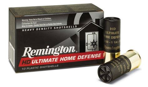 12 home defense guns ammo