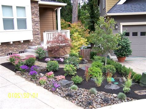 Rock Garden Pictures Ideas Plans Exles Front Yard Garden Ideas On A Budget Small Front Yard Trees Zone 3 Chsbahrain