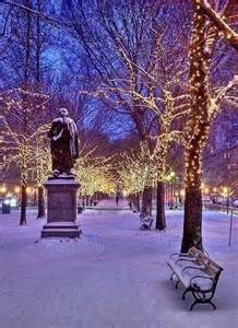 New york city in the snow