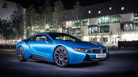 bmw i8 wallpaper hd at night bmw i8 hybrid supercar wallpapers for desktop 1920x1080