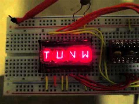 rare  segment led display youtube