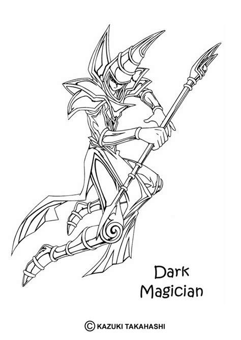 Dark Magician 1 Coloring Pages Hellokids Com Magician Coloring Pages Printable
