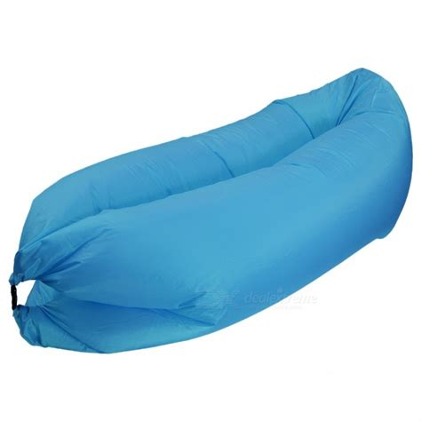outdoor inflatable sofa outdoor cing travel foldable inflatable sofa sky blue