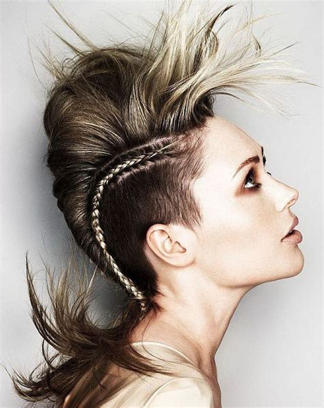 Mohawk Hair Long In The Front | mohawk hair in the front top 30 mohawk fade hairstyles