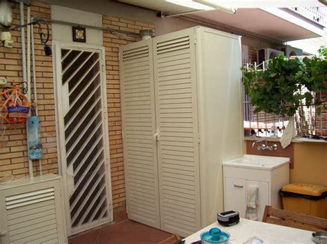 armadi da esterno in metallo casa moderna roma italy armadi metallici per esterni