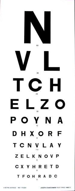 printable eye chart nz churchward snellen 6 metre charts product view
