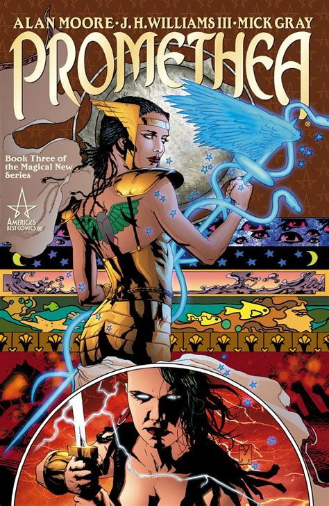 libro promethea book 1 promethea book three collected dc database fandom