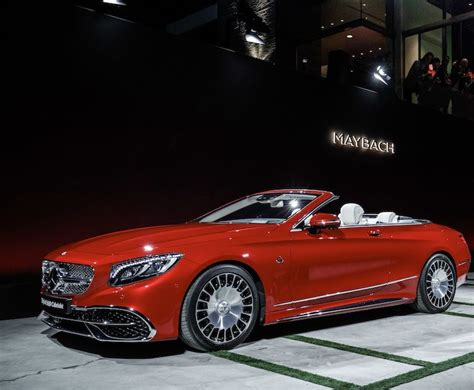 meet the 621hp mercedes maybach s650 cabriolet