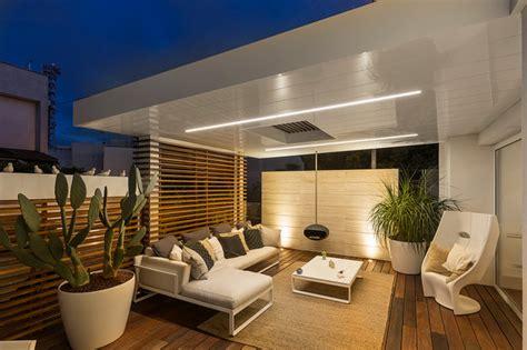 terrazze design ristrutturazione casa a schiera ab contemporaneo