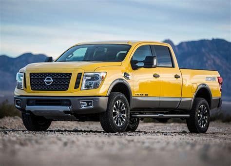 nissan pickup 2016 2016 nissan titan xd brings diesel goodness into focus