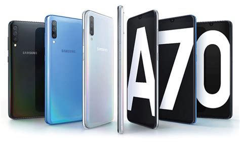 Samsung U Flex Price In India Samsung Galaxy A70 Launched In India With Snapdragon 675 In Display Fingerprint Sensor Price