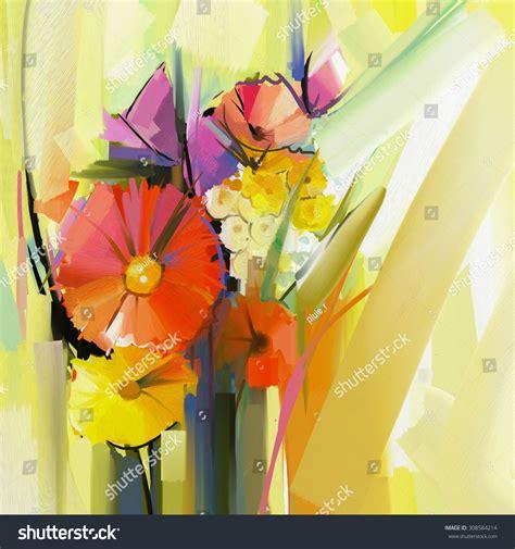 libro the modern flower painter abstract oil painting spring flower still stock illustration 308584214 shutterstock