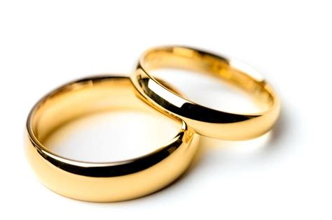 classic his and hers wedding band pictures slideshow