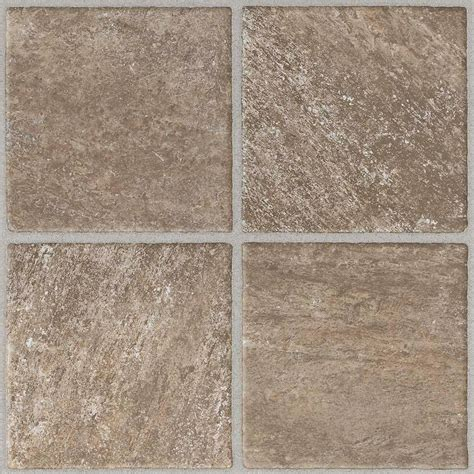 Peel And Stick Vinyl Floor Tiles by Trafficmaster Quartz 12 In X 12 In Peel And Stick