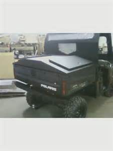 Tonneau Cover For Polaris Ranger Metal Products Utility Bed Cover For Polaris